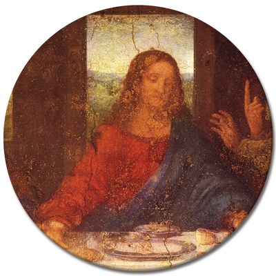 Leonardo da Vinci - Das Abendmahl - Jesus Detail – Bild 5