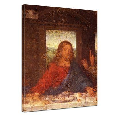 Leonardo da Vinci - Das Abendmahl - Jesus Detail – Bild 1