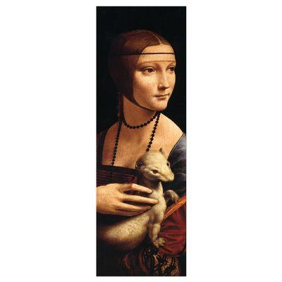 Leinwandbild - Alte Meister - Leonardo da Vinci - Die Dame mit dem Hermelin – Bild 6