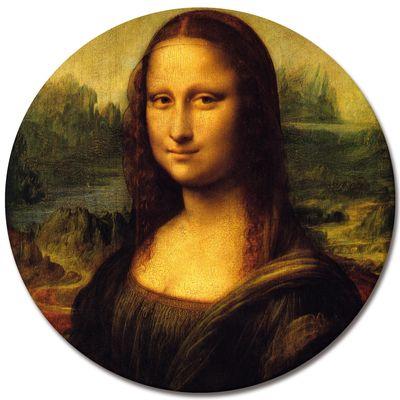 Leinwandbild - Alte Meister - Leonardo da Vinci - Mona Lisa – Bild 3