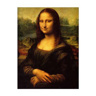 Leinwandbild - Alte Meister - Leonardo da Vinci - Mona Lisa – Bild 2
