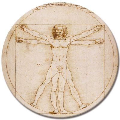 Leonardo da Vinci - Vitruvianischer Mensch – Bild 3