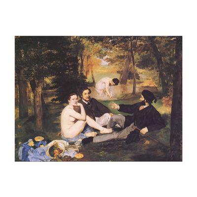 Édouard Manet - Das Frühstück im Grünen 2 – Bild 2