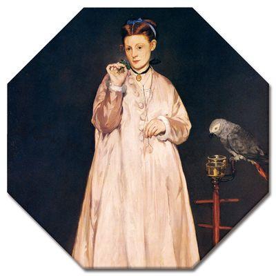 Édouard Manet - Junge Dame mit Papagei – Bild 8
