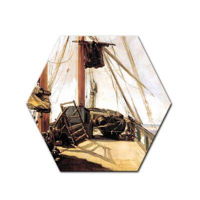 Kunstdruck - Alte Meister - Édouard Manet - Schiffsdeck – Bild 5
