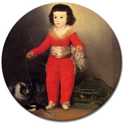 Kunstdruck - Alte Meister - Francisco de Goya - Don Manuel Osorio Manrique de Zuñiga – Bild 6