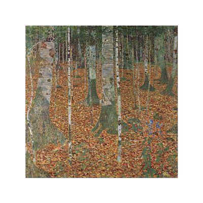 Kunstdruck - Alte Meister - Gustav Klimt - Birkenwald – Bild 7