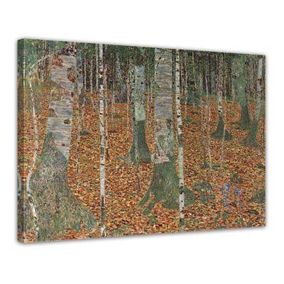 Gustav Klimt - Birkenwald – Bild 1