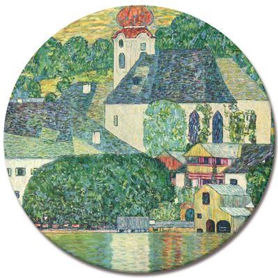 Kunstdruck - Alte Meister - Gustav Klimt - Die St. Wolfgang-Kirche – Bild 6