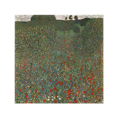 Kunstdruck - Alte Meister - Gustav Klimt - Mohnfeld – Bild 8