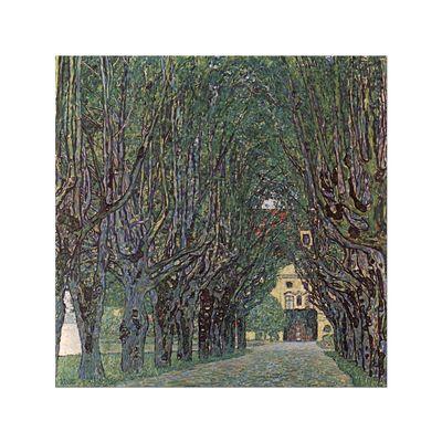 Kunstdruck - Alte Meister - Gustav Klimt - Weg im Park von Schloss Kammer – Bild 6