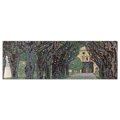 Gustav Klimt - Weg im Park von Schloss Kammer – Bild 8