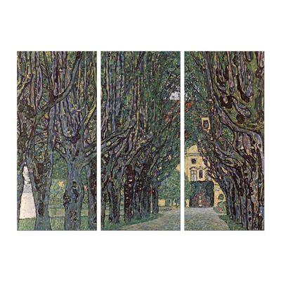 Gustav Klimt - Weg im Park von Schloss Kammer – Bild 7