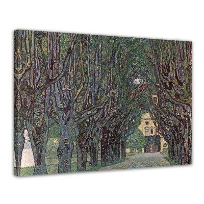 Kunstdruck - Alte Meister - Gustav Klimt - Weg im Park von Schloss Kammer – Bild 1