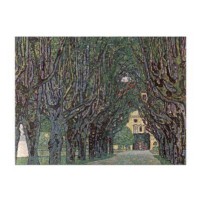 Kunstdruck - Alte Meister - Gustav Klimt - Weg im Park von Schloss Kammer – Bild 2