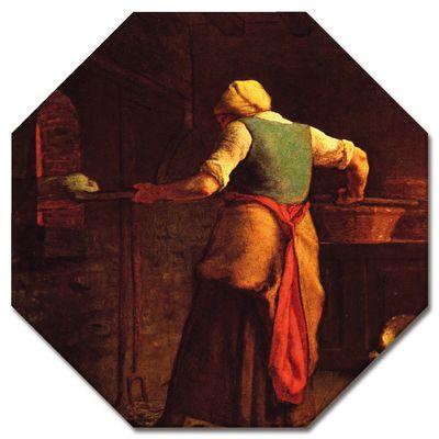 Jean-François Millet - Frau beim Brotbacken – Bild 6