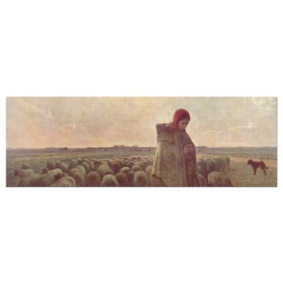 Jean-François Millet - Die Hirtin – Bild 4