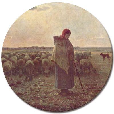 Jean-François Millet - Die Hirtin – Bild 2