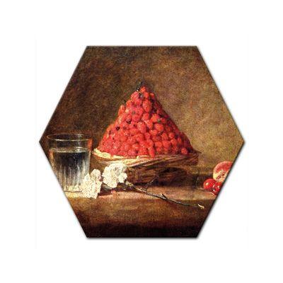 Kunstdruck - Alte Meister - Jean Siméon Chardin - Der Erdbeerkorb – Bild 5