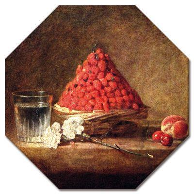 Kunstdruck - Alte Meister - Jean Siméon Chardin - Der Erdbeerkorb – Bild 4