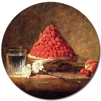 Kunstdruck - Alte Meister - Jean Siméon Chardin - Der Erdbeerkorb – Bild 3