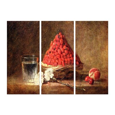 Kunstdruck - Alte Meister - Jean Siméon Chardin - Der Erdbeerkorb – Bild 6