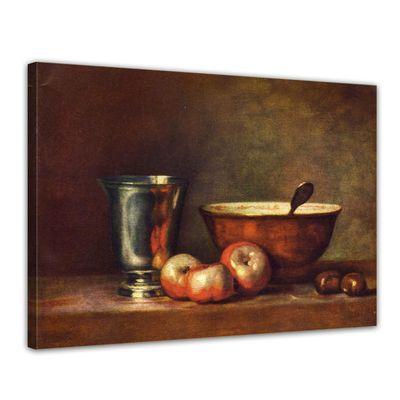 Jean Siméon Chardin - Der Silberbecher – Bild 1