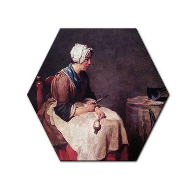 Jean Siméon Chardin - Die Rübenputzerin – Bild 5