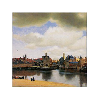 Jan Vermeer - Ansicht von Delft – Bild 6