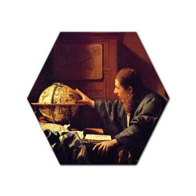 Leinwandbild - Alte Meister - Jan Vermeer - Der Astronom – Bild 5