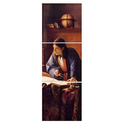 Leinwandbild - Alte Meister - Jan Vermeer - Der Geograph – Bild 6