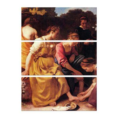 Leinwandbild - Alte Meister - Jan Vermeer - Diana mit ihren Gefährtinnen – Bild 4