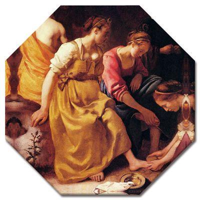 Leinwandbild - Alte Meister - Jan Vermeer - Diana mit ihren Gefährtinnen – Bild 6