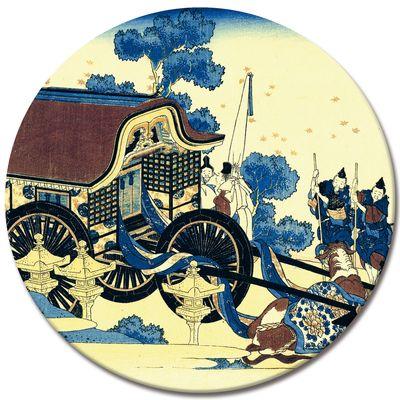 Kunstdruck - Alte Meister - Katsushika Hokusai - Der Ochsenkarren – Bild 7