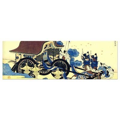 Leinwandbild - Alte Meister - Katsushika Hokusai - Der Ochsenkarren – Bild 5