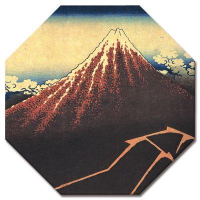 Kunstdruck - Alte Meister - Katsushika Hokusai - Gewitter unterhalb des Gipfels – Bild 9