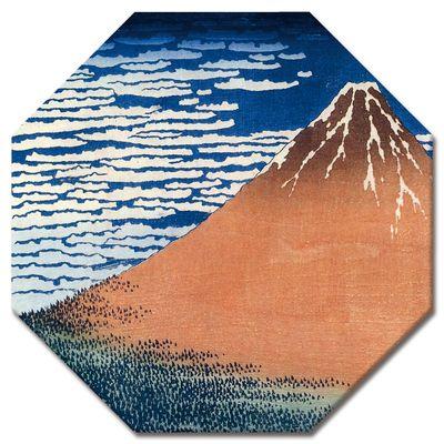 Leinwandbild - Alte Meister - Katsushika Hokusai - Roter Fuji – Bild 4