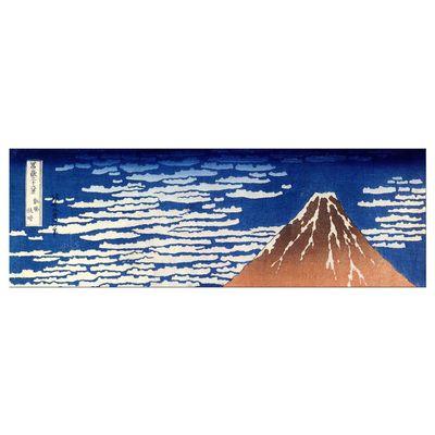 Leinwandbild - Alte Meister - Katsushika Hokusai - Roter Fuji – Bild 8