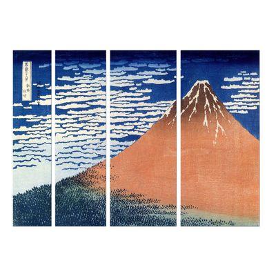 Kunstdruck - Alte Meister - Katsushika Hokusai - Roter Fuji – Bild 7