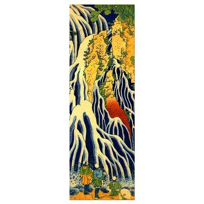 Kunstdruck - Alte Meister - Katsushika Hokusai - Pilger beim Kirifuri Wasserfall – Bild 9
