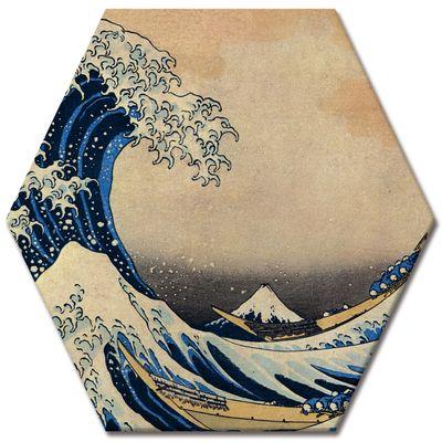 Kunstdruck - Alte Meister - Katsushika Hokusai - Die große Welle vor Kanagawa – Bild 5