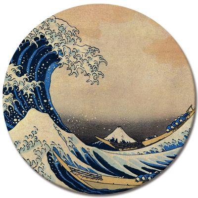 Leinwandbild - Alte Meister - Katsushika Hokusai - Die große Welle vor Kanagawa – Bild 3