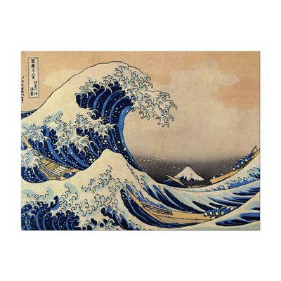 Kunstdruck - Alte Meister - Katsushika Hokusai - Die große Welle vor Kanagawa – Bild 2