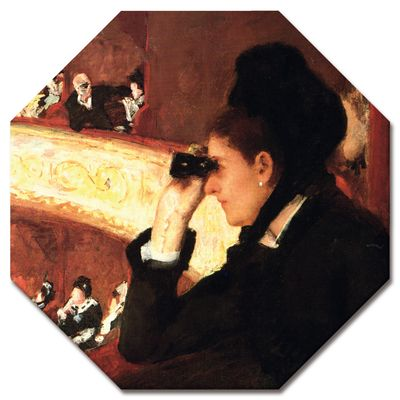 Mary Cassatt - In der Oper  – Bild 4