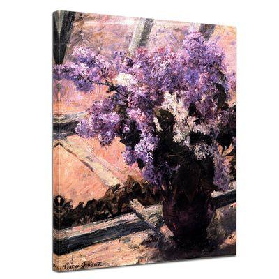Mary Cassatt - Flieder in einem Fenster – Bild 1