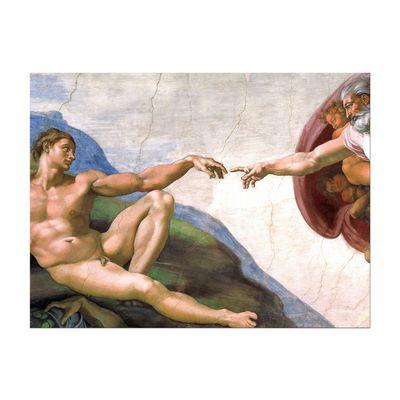 Michelangelo - Die Erschaffung Adams – Bild 4
