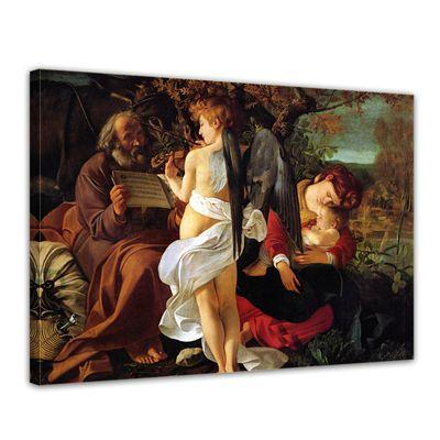 Caravaggio - Ruhe auf der Flucht nach Ägypten – Bild 1