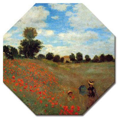 Claude Monet - Mohnfeld bei Argenteuil – Bild 9
