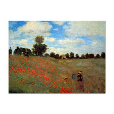 Claude Monet - Mohnfeld bei Argenteuil – Bild 5