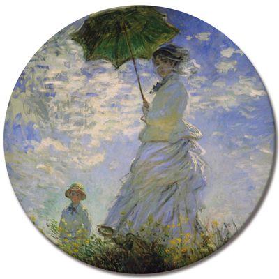 Claude Monet - Frau mit Sonnenschirm – Bild 6